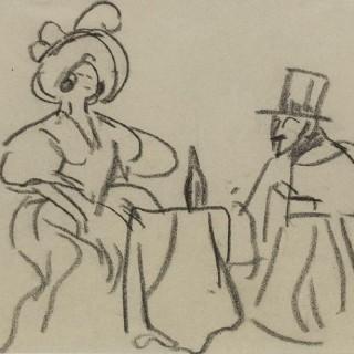 'Expensive Company' by Steven SpurrierRA RBA (1878-1961)