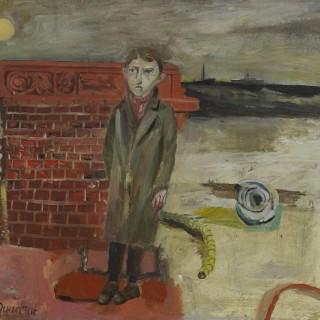 'Dark Coast' by Simon Quadrat PPRWA NEAC (born 1946)