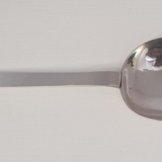 Rare Dated 17th Century Silver Trefid Spoon
