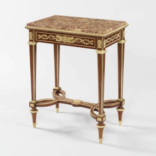 A Fine Side Table in the Louis XVI Manner by Henry Dasson