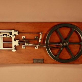 Merkelbach & Co Amsterdam Working Education Model Of An Engine.