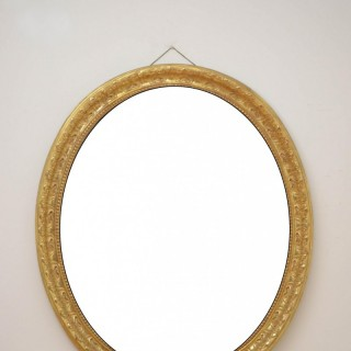 A Large William IV Gilt Wall Mirror