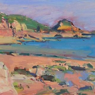 'Portelet Bay' by Luke Martineau (born 1970)