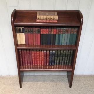 1930s Solid Mahogany Bookcase