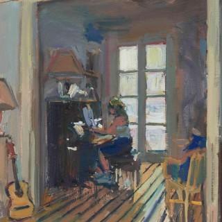 'The Music Room' by Luke Martineau (born 1970)