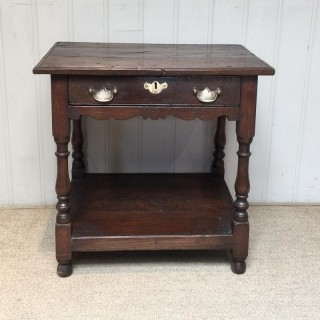 Good Quality 18th Century Style Side Table
