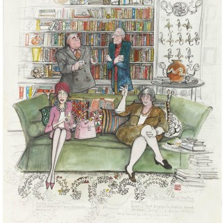 'In-Laws' First Meeting' by Sue Macartney Snape (born 1957)