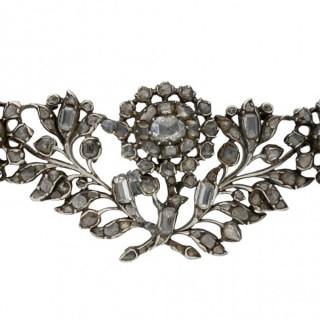 Georgian diamond brooch, English, circa 1740.