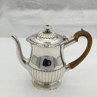 Antique George IV Sterling Silver Gravy Argyle London 1822 Thomas Burwash