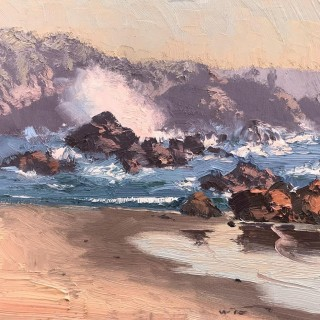 'Rose Morning, Mystery Bay' by Warwick Fuller (1948)
