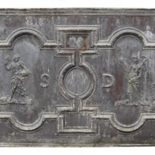 An 18th Century Lead Cistern