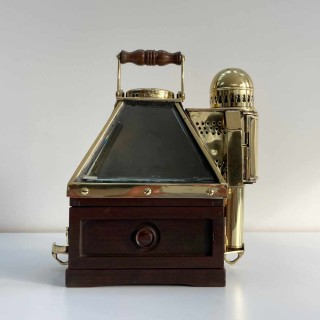 Royal Navy Pattern 20 Patent Binnacle with Liquid Boat Compass by Dent & Co London