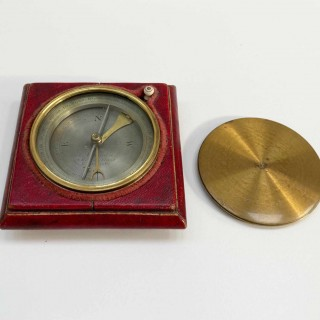 William IV Desk Compass with Inclinometer by John Newman of Regent Street