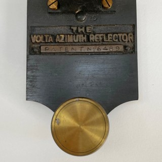Cased Volta Azimuth Reflector by Reynolds & Son London