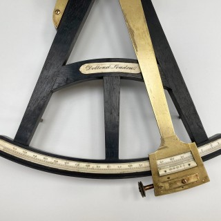 Late Eighteenth Century Octant by Dollond of London