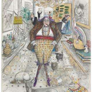'A Very Happy Woman' by Sue Macartney Snape (born 1957)