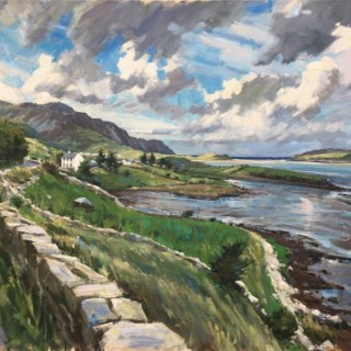 'The Road to Maghera, Co Donegal' by Tom Hoar (born 1978)