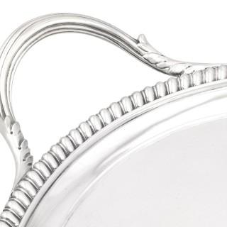 Sterling Silver Tea Tray - Antique Georgian (1806)