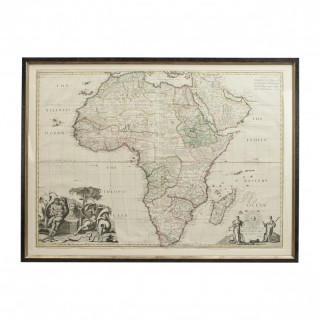 Large Map Of Africa, John Senex, John Maxwell