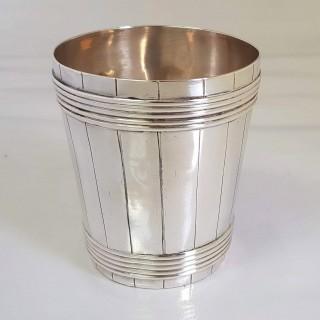 George III Silver Beaker