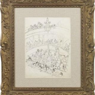 'Regency Theatre' by Steven Spurrier RA RBA (1878-1961)
