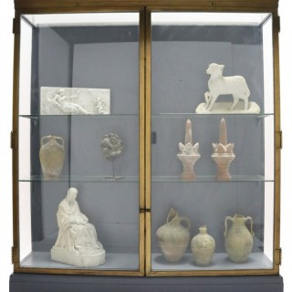 Glazed Bronze Museum Display Cabinet From The V&A