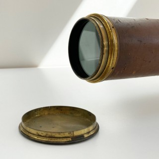 Napoleonic Royal Navy Night Telescope or Night Glass by Dollond London