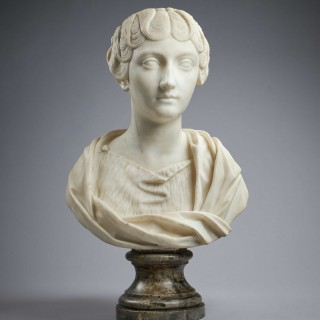 Marble Bust of Faustina the Younger