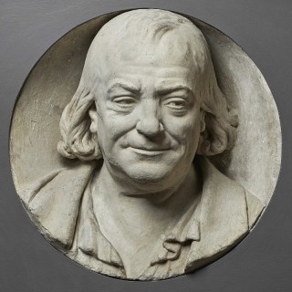 Late 18th Century French Portrait Tondo