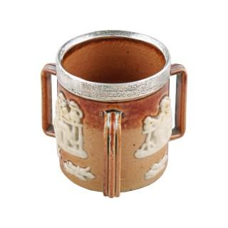 Doulton Lambeth Miniature Loving Cup