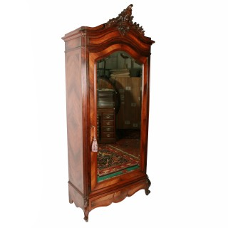 19th Century Rosewood Armoire