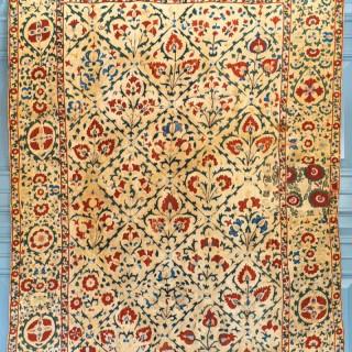 A good 19th century Suzani, Uzbekistan