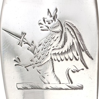 Irish Sterling Silver Gravy Spoons - Antique George III