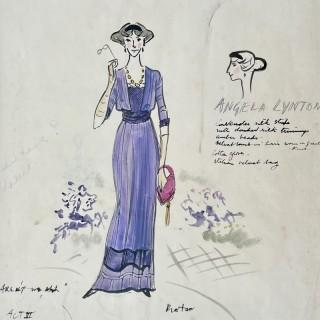 Cecil Beaton - Costume Design for