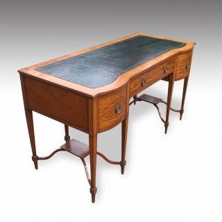 Satinwood desk