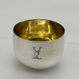 Antique George III Sterling Silver Tumbler Cup London 1782 George Smith II