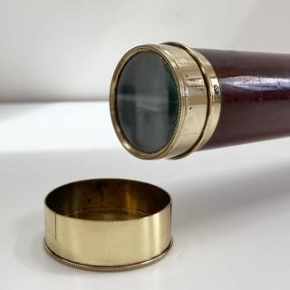 George IV Telescope with Secret Pancratic Eye Tube by John King of Bristol