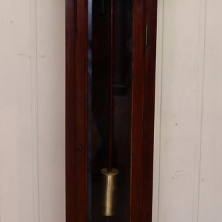 Westminster Chime Mahogany Grandmother Clock