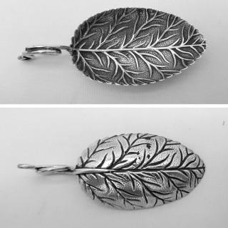 George III Silver Caddy Spoon
