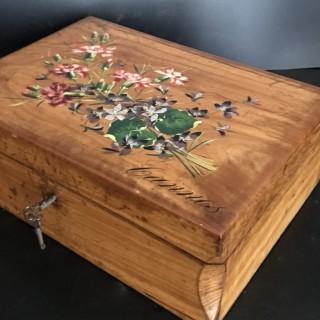 C19th Olive Wood Box