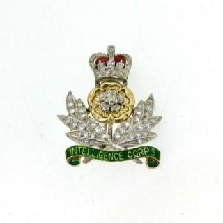 Intelligence Corps Sweetheart Brooch