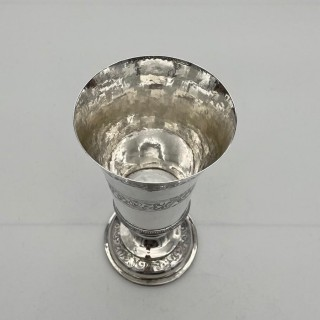 Mid 16th Century Antique Elizabethan Silver Chalice London 1565 Robert Darrant