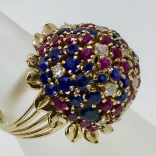 1950'5 Cocktail Ring
