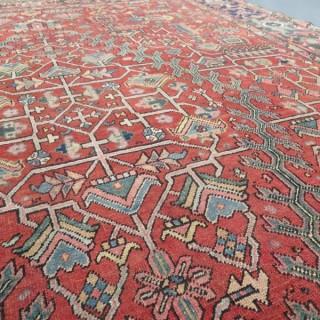 Early Heriz carpet