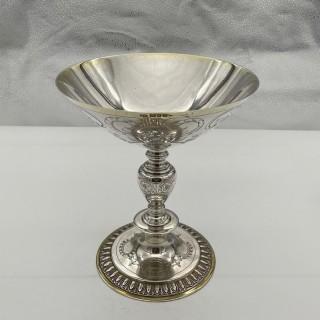George V Sterling Silver Tazza London 1928 Theodore Rossi