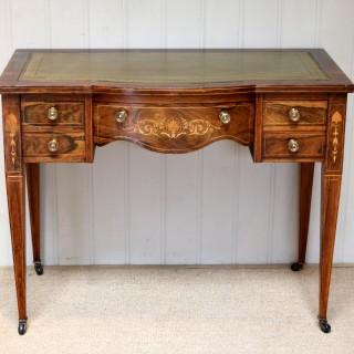 Inlaid Rosewood Writing Desk