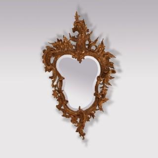 A 19th Century Italian Giltwood Mirror
