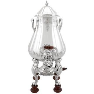 French Silver Samovar - Antique Circa 1905