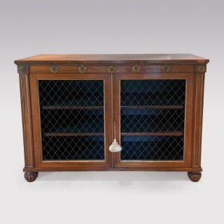 An early 19th Century Regency period rosewood Chiffonier