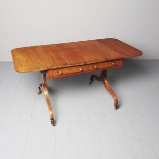 Antique Regency Mahogany Sofa Table